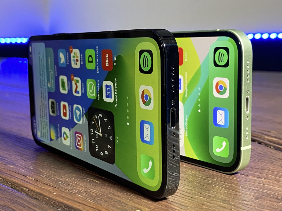 iPhone 12 und 12 Pro Review Test